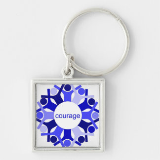 Seeds Courage Keychain