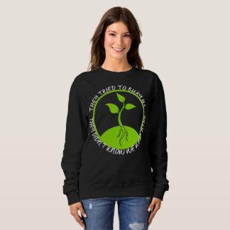 Seeds Dark Women's Basic Sweatshirt