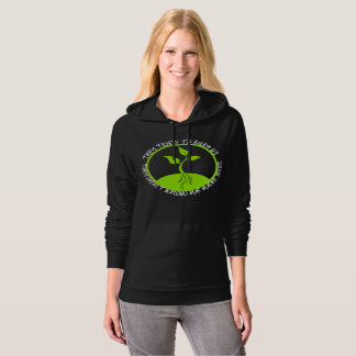 Seeds Dark Women's Fleece Pullover Hoodie
