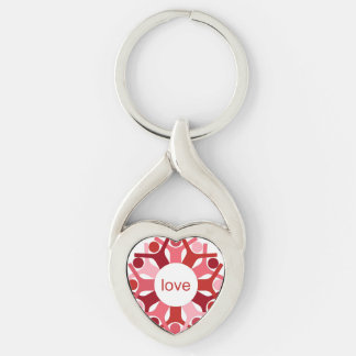 Seeds Heart Keychain