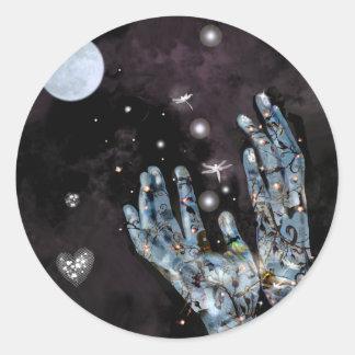 Seeds of Destiny! Classic Round Sticker