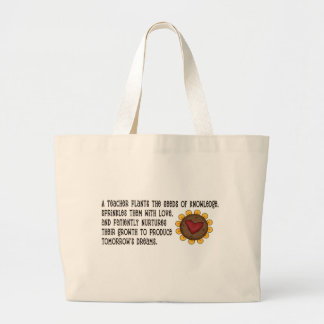 Seeds of Knowledge Teacher Jumbo Tote Bag