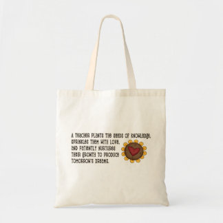 Seeds of Knowledge Teacher Tote Bag