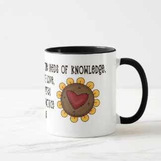 Seeds of Knowlege Teacher Appreciation Mug
