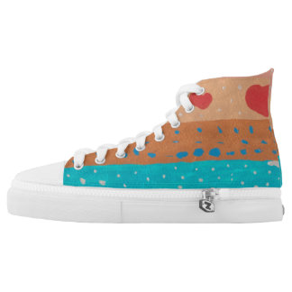 Seeds of Love High Tops Printed Shoes