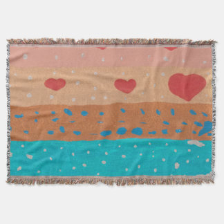 Seeds of Love Throw Blanket