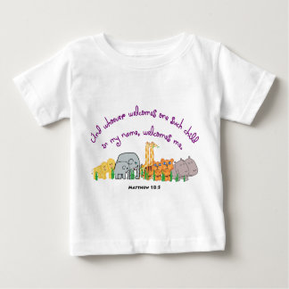 Seeds of The Sycamore - Matthew 18:5 Baby T-Shirt