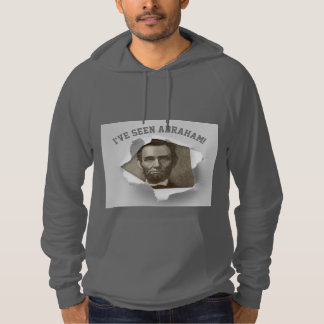 Seeing Abraham Lincoln 50th Birthday Funny Hoodie