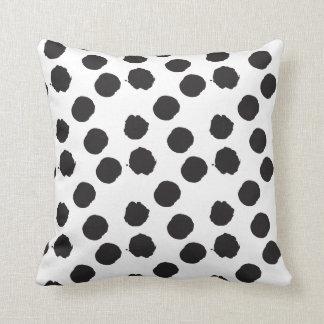 SEEING BIG SPOTS dotty polka dot pillow