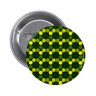 Seeing Dots Lemon Lime Pin Back Button