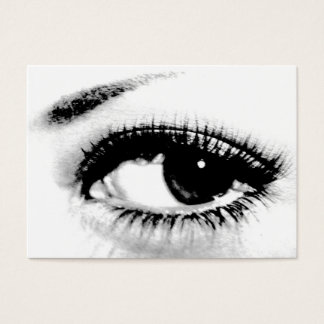 Seeing is Believing/Beautiful Eye Business Card