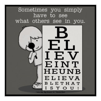 Seeing is Believing-Eye Chart