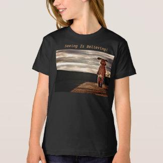 Seeing Is Believing! Girls Organic T-Shirt