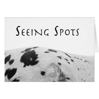 Seeing Spots Card