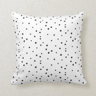 SEEING SPOTS dotty polka dot pillow