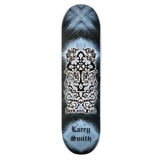 Seek Find Skateboard Name temp.
