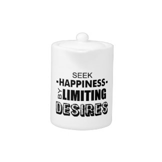Seek Happiness By Limiting Desires