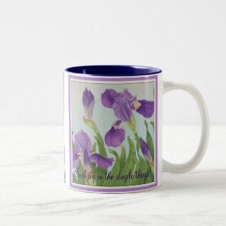 Seek joy in the simple things!, coffee mug