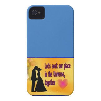 Seek our Place in Universe iPhone 4 Case-Mate Cases