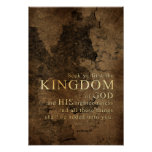 Seek Ye First the Kingdom -Scripture: Matthew 6:33 Poster