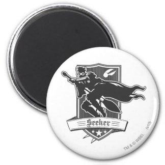 Seeker Badge 6 Cm Round Magnet