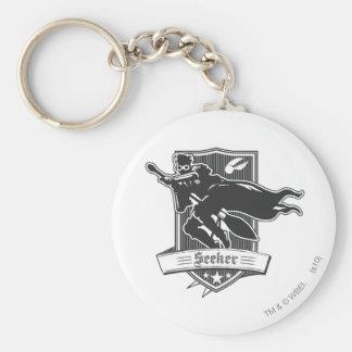 Seeker Badge Basic Round Button Key Ring