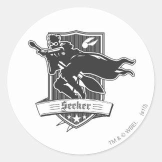 Seeker Badge Classic Round Sticker