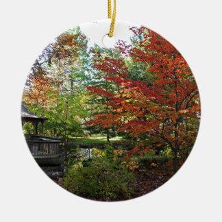 Seeking Solitude Ceramic Ornament