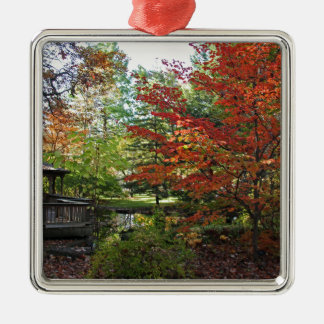 Seeking Solitude Metal Ornament