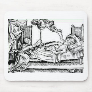 Seele Entweicht - Soul Leaving Body Mouse Pad
