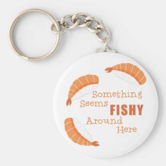 Seems Fishy Key Ring