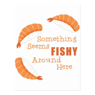 Seems Fishy Postcard