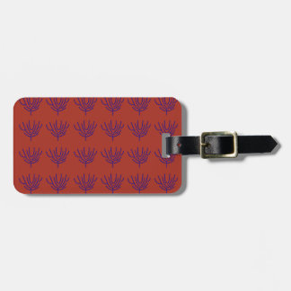 Seeweeds design Ethno elements Luggage Tag