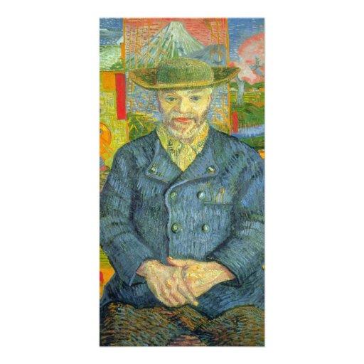 Segaton by Vincent van Gogh Custom Photo Card