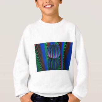 Segments in the crystal ball sweatshirt