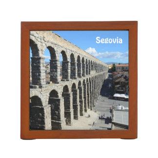 Segovia, Spain 2015 calendar template Desk Organiser