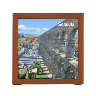 Segovia, Spain 2015 calendar template Desk Organiser