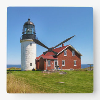 Seguin Island Lighthouse, Maine Wall Clock