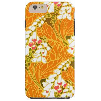 Séguy's Art Nouveau White Bell-Shaped Flowers Tough iPhone 6 Plus Case