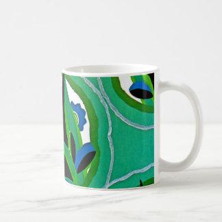 Seguy's Art Deco #11 at Emporio Moffa Basic White Mug