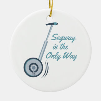Segway Ceramic Ornament