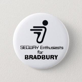 SEGWAY, Enthusiasts , for, BRADBURY 6 Cm Round Badge