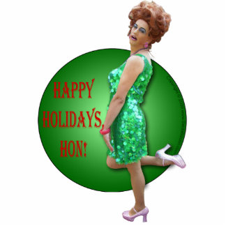 Seida Bacon Holiday Ornament Photo Sculpture Decoration