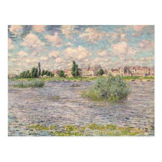 Seine at Lavacourt Postcard
