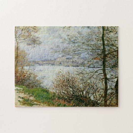 Seine, Île de la Grande Jatte Monet Fine Art Jigsaw Puzzle
