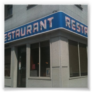 Seinfield's Famous Eatery Poster
