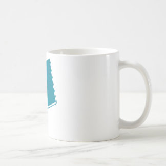 Seize the Book (Teal) Coffee Mug