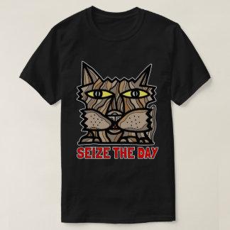 """Seize the Day"" BuddaKats Men's T-Shirt"