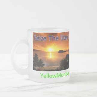 Seize The Day! Frosted Mug