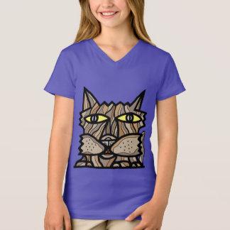 """Seize the Day"" Girls' V-Neck T-Shirt"